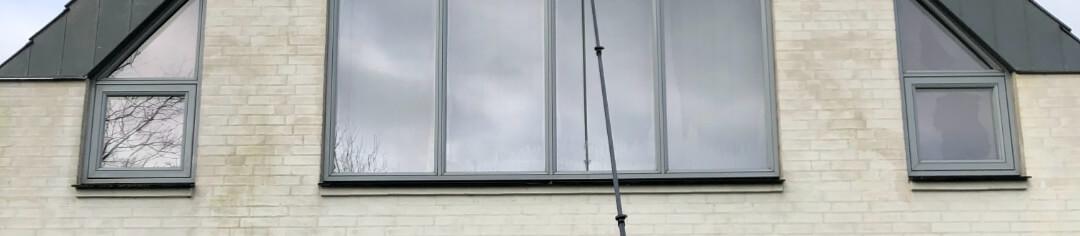Vinduespolering i Søborg på firmaaftale
